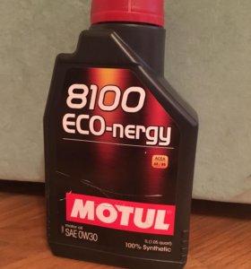 Масло моторное  0W30  Motul 8100 ECO-nergy 1 литр