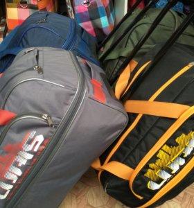 Дорожная сумка на колесах средняя