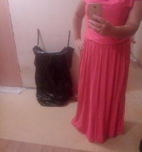 Платье в пол 48-54