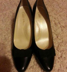 Туфли кожаные Monarch 41 р-р