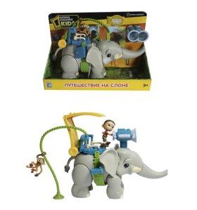 Игровой набор Путешествие на слоне