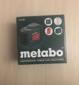 Лазерный пятиточечный нивелир Metabo pl5-30