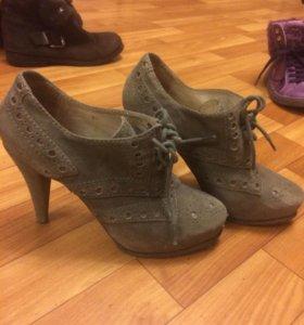 Ботинки Пауло конте