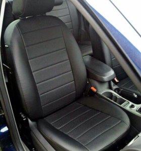 Чехлы ЭкоКожа на Ford Focus 2