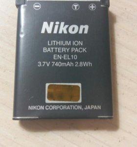 Аккумулятор для Nikon Coolpix S220