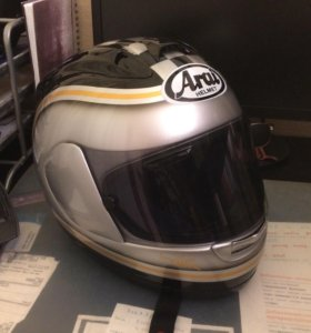 Мото шлем Arai RX-7 с аэрографией (размер L)