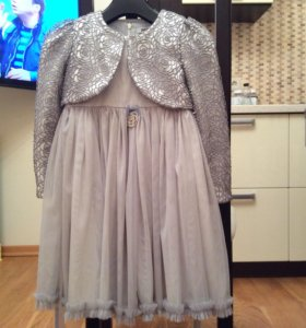 Платье с болеро, рост 116-122