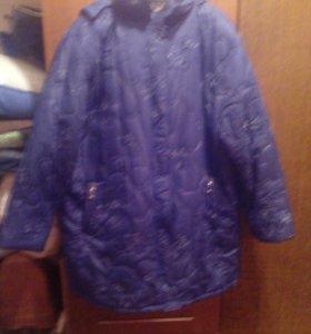 Женская куртка 68-70 р.большой размер