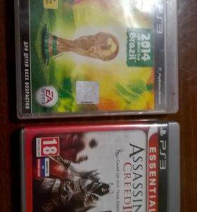 2 Диска на PS 3