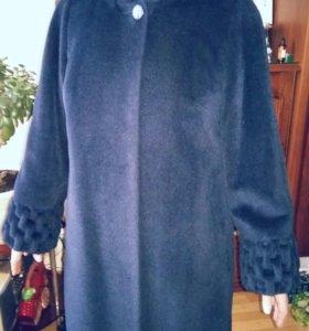 Пальто новое альпака