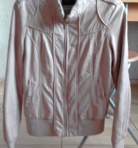 🆘👌Кожаная куртка б/у