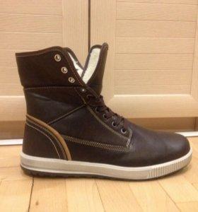 Ботинки Мужские Зимние Unionbay