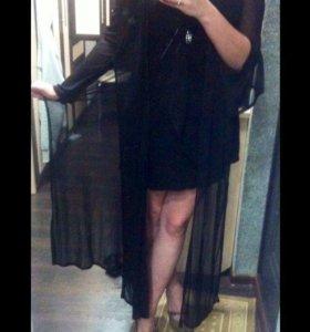 Платье + накидка 44-46