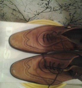 Туфли кожаные Diesel