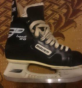 Хоккейные коньки Bauer Impact 20 размер 40