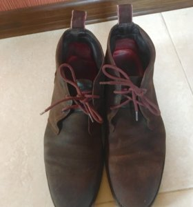 Замшевые ботинки Tommy Halfiger