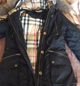 Пуховик(куртка-парка)Burberry