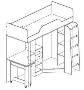 Сборка мебели, ремонт мебели, врезка моек.