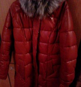 Куртка зимняя (6XL) новая