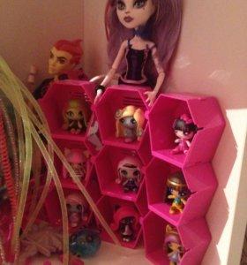 Куклы monster high minis новые из США