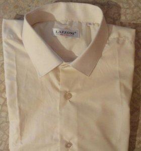 Мужская рубашка с коротким рукавом (сорочка)