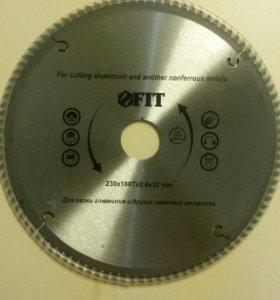 Диск пильный по алюминию FIT 230мм/30мм/32мм/100Т