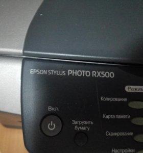 МФУ Epson stylus photo rx500