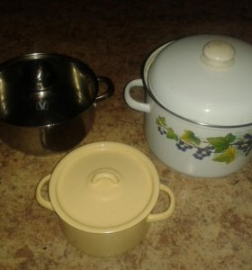 Каcтрюли чайники кружки соковыжималка  идр