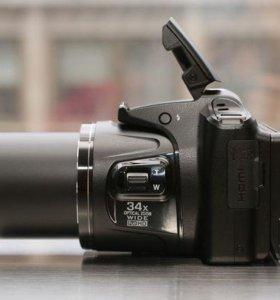 Профессиональный фотоаппарат Nikon L830