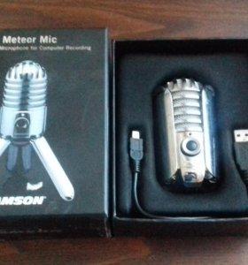 Микрофон студийный.почти новый пишет на ура!