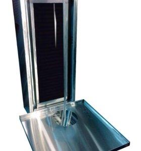Аппарат для шаурмы со стеклом OSBA