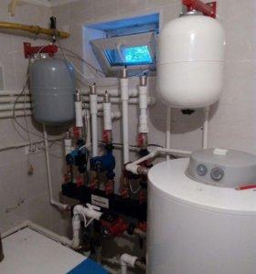 Монтаж отопления в Подмосковье