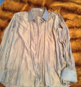 Рубашка мужская под запонки