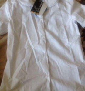 Блузка  школьная 152