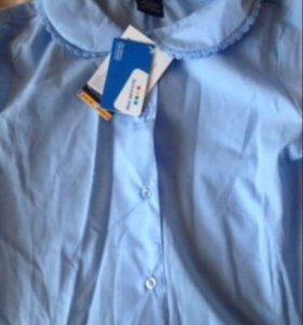 Блузка школьная 158