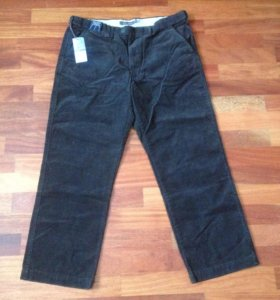 Новые вельветовые брюки мужские M&S 38x29