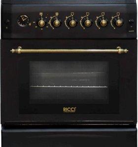 """Газовая плита """"Ricci"""" RGC 6030 BL"""