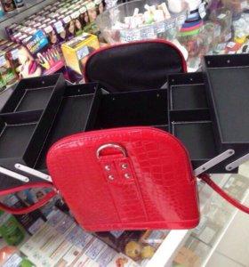Сумка-чемодан для мастеров маникюра и косметологов