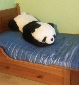 Кровать детская раздвижная с матрасом