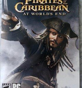 Игра Пираты карибского моря dvd