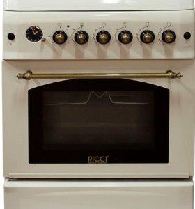 "Газовая плита ""Ricci"" RGC 6030 BG"