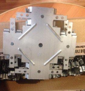 Соединитель  одноуровневый краб 60х27 (0,9 мм.)