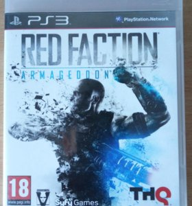 Игры для PS3 (Red faction, Turning point)