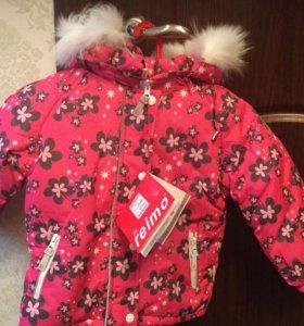 Куртка для девочки новая р104