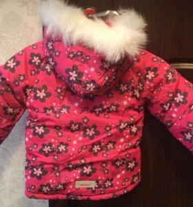 Куртка для девочки новая.р92