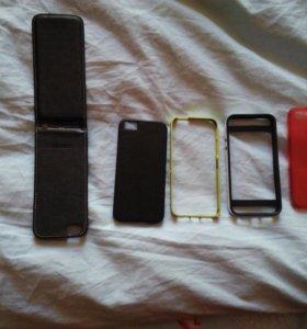 Чехлы и бамперы на айфон 5