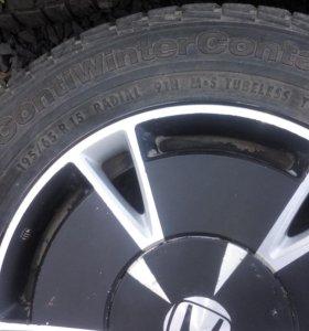 Диски+резина на Honda Civic