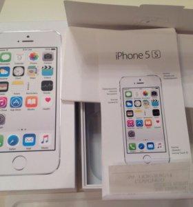 Оригинальная коробка с документами Айфон 5S