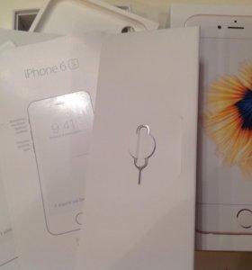 Оригинальная коробка с документами Айфон 6S