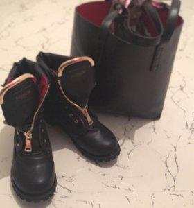 Ботинки зимние !!!! С мехом !!!